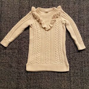 Gap beautiful sweater dress size 2y